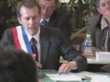 Installation de Guillaume Garot comme maire  de Laval