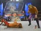 Raw.07.04.2003 - Chris Jericho & Triple H Vs Booker T & HBK