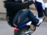 mbk stunt en roue