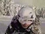 La neige c'est cool vol 1 (tete dans neige)