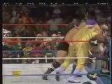 WWE Raw 1995 King Kong Bundy vs Mabel