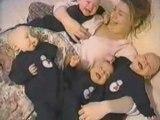 Bebe quadruplés fou rire