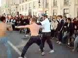 Manif dans les rues d'Orléans 08