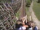 Robin hood montagne russe looping  roller coaster
