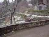 Pontito Sous la neige février 2008