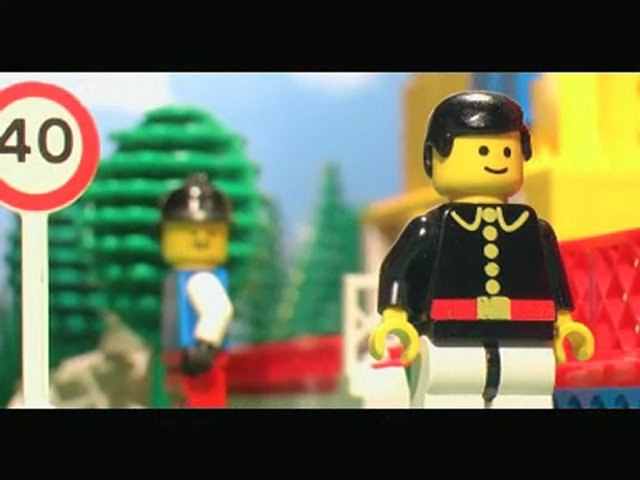 Henri & Edmond : Le Nouveau Voisin (brickfilm LEGO)