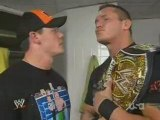 John Cena & Randy Orton vs Raw Roster - Raw 3/17/2008