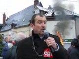 Manifestation à RPA Darnétal