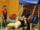 ATHLE DEVELOPPE COUCHE ( bench press) 250kgs MARTNEZ