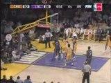 NBA Bobcats 108, Lakers 95 (F) Recaps March 26,2008,