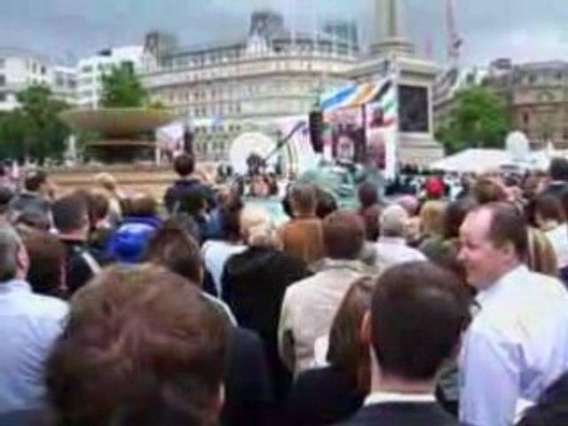 Annonce du Vainqueur Londres 2012