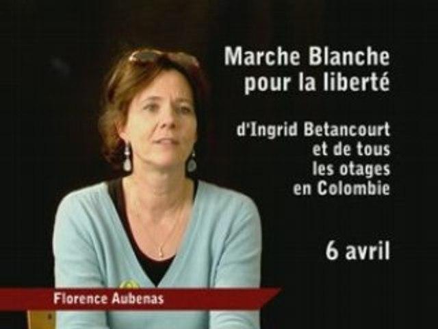 6 avril Marche pour Ingrid et les otages (Florence Aubenas)