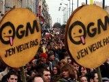 Manif anti-OGM à Rennes