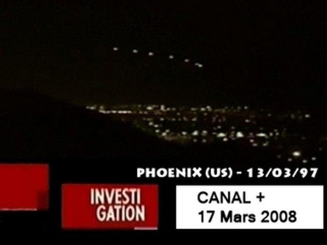 OVNIS - PHOENIX - 13/03/97 - CANAL+ INVESTIGATION