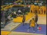 NBA BASKETBALL - Lamar Odom Assist To Kobe Bryant for dunk