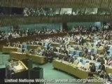 Video Discours d'Ahmadinejad à l'ONU en Fr 1 2