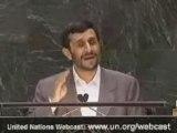 Discours d'Ahmadinejad à l'ONU en Fr 2 2