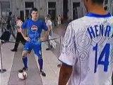 Henry Lampard VS Cesc Ronaldinho Beckham On Pepsi