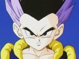 DBZ - Goten and Trunks fuse, to create, Gotenks!
