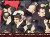 Ashoura 2008 Sayed Hassan Nasrallah parmi la foule, Liban