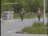 Moto cross weeling crash 2 motos