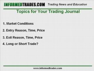 How to Keep a Trading Journal – Forex, Futures, Stocks