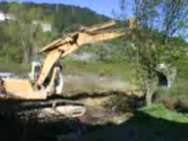Décharge municipale sauvage à Alès
