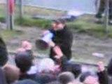 Valenciennes-Lyon Tribune Pouille SCHELDT FANS 30/03/2008