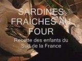 Sardines fraiches au four (recette des enfants du sud de  la