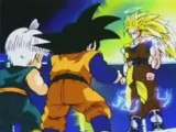 DBZ - Goku show Goten and Trunks Super Saiyan 3!