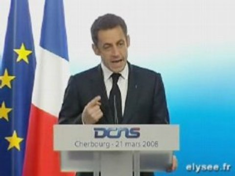 Sarkozy le bouton nucléaire