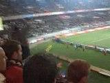 PSG-strasbourg echange auteuil bleu auteuil  rouge