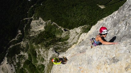 How to belay with a REVERSO