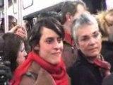 Concert sauvage dans le métro a paris