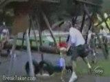 Caídas en el parque
