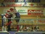 Boxe Thai Karim explosif à Chateauroux 1er combat