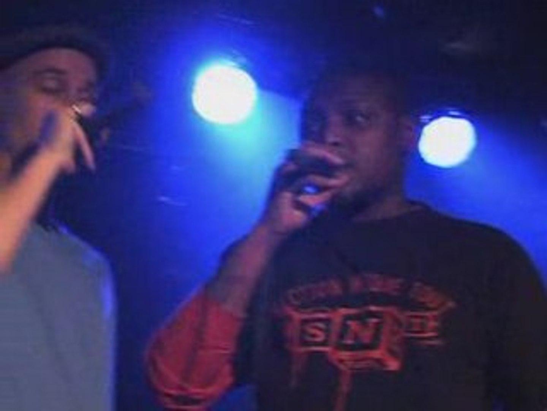 ROUDA Live à la Boule Noire : Slam Sauvage (nov. 2007)