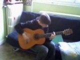 guitare du 93 L-G(après 4mois d'entrainement)
