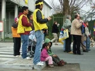 Manifestation tibet 9 avril 2008