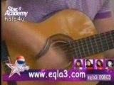 Nader singing for Carol Sma7a 10/4 - Star Acadamy LBC5