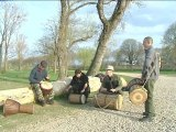 Petit boeuf entre amis... Percussions djembe