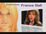 "France Gall - Pub TV ""Compil Evidemment"" 2004"