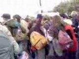 Ambiance devant Fourier à Auxerre le vendredi 04 avril