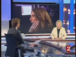 France Gall - JT France 2 17/11/07 (Tous pour la musique)