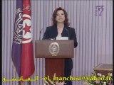 Tunisie Discours Madame Leila Benali Tunis Tunisien