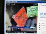 Grève étudiants travailleurs sociaux à Grenoble IFTS