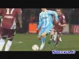 Samir Nasri vs Metz 1 - 2 marseille  2007/2008