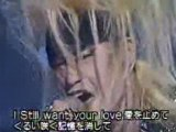 X-japan Kohaku91 Silent jealousy émission tv
