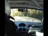 RALLYE VENASQUE 2008 ES4 COL DE MURS CABART/PEREZ 206 N°104