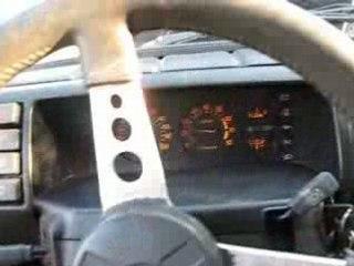 R5 Alpine Turbo - Moteur qui tourne